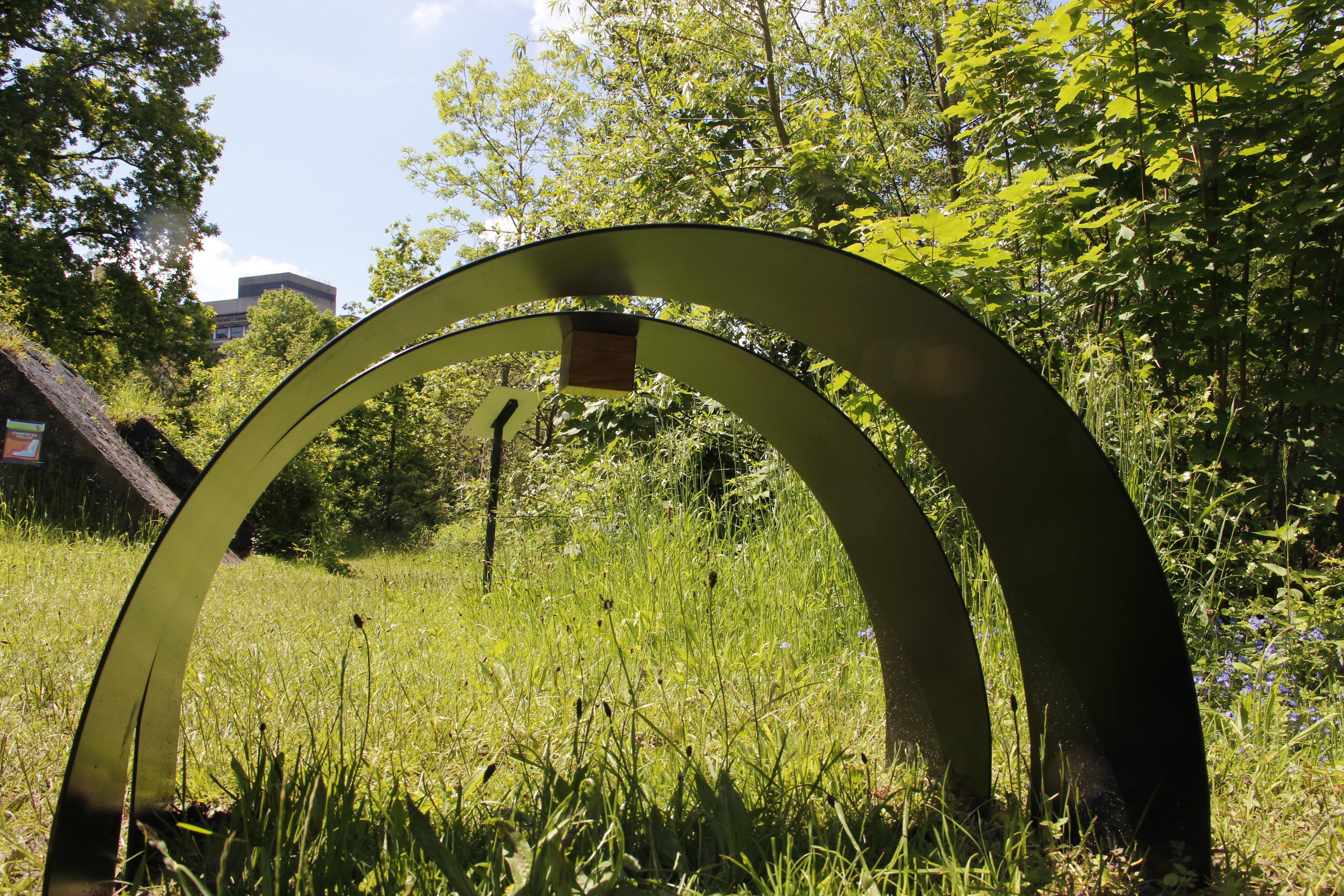 Draaiing in de Botanische Tuinen Utrecht - Foto Akkie Joosse